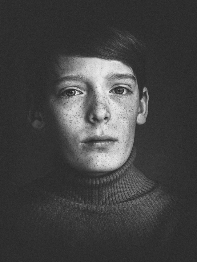 1-е место в категории «Портрет» среди любителей, 2019. «14». Автор Белла фон Айнзидель