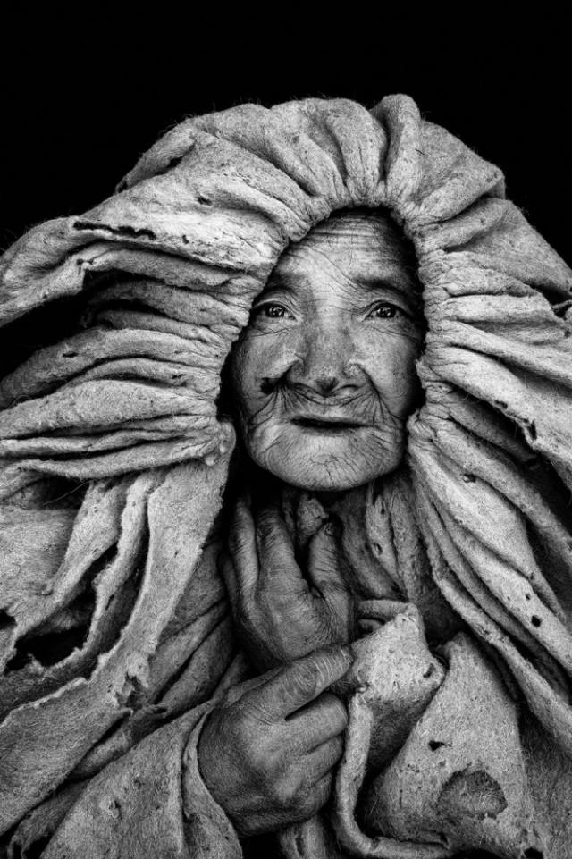 1-е место в категории «Портрет» среди профессионалов, 2019. «Старая женщина». Автор Вэй Чан Куо
