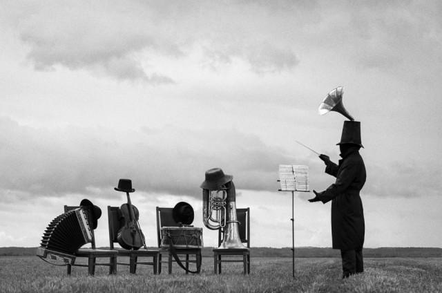 1-е место в категории «Концептуальное фото» среди профессионалов, 2019. «Абсолютный слух». Автор Дмитрий Рябов