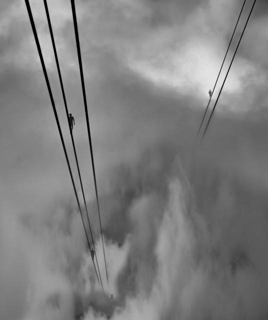 2-е место в категории «Концептуальное фото» среди любителей, Monochrome Awards 2018. «Quo vadis» (Куда идешь - Камо грядеши). Фотограф Сергей Шварцман
