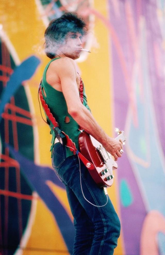 Европейский тур Rolling Stones в 1982 году. Фотограф Дэнис О'Риган