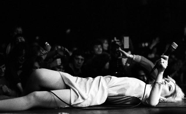 Дебби Харри Blondie. Фотограф Дэнис О'Риган