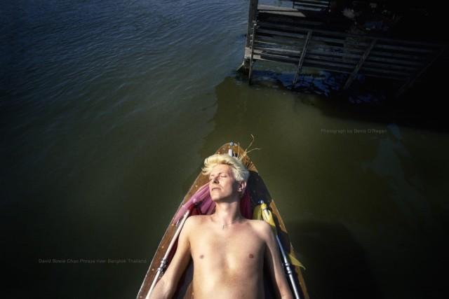Дэвид Боуи, Бангкок, 1983 год. Фотограф Дэнис О'Риган