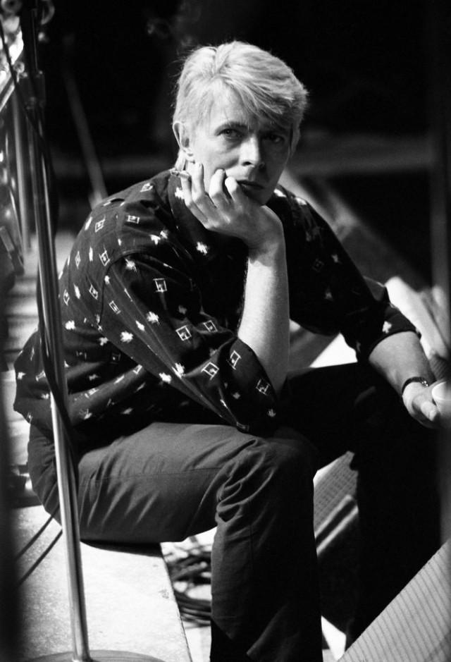 Дэвид Боуи. Фото из коллекционного альбома «Ricochet: David Bowie 1983». Многие фото из альбома ранее не публиковались. Фотограф Дэнис О'Риган