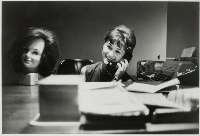 Телефонный разговор, 1961. Фотограф Дэн Будник