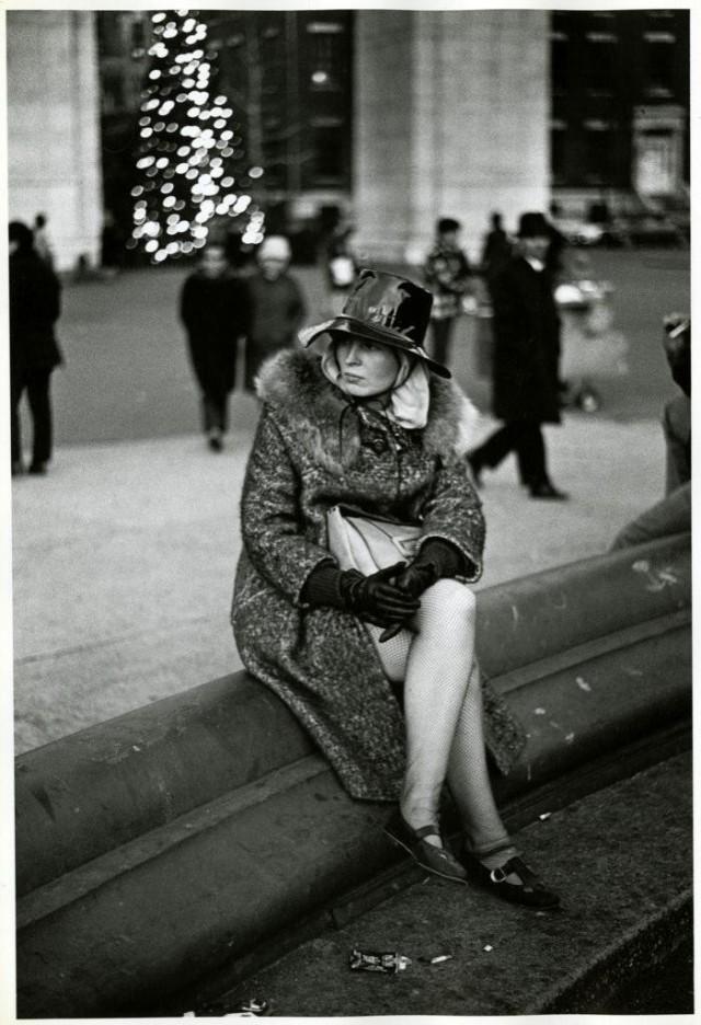 Вашингтон-Сквер-парк, 1968. Фотограф Корнелл Капа