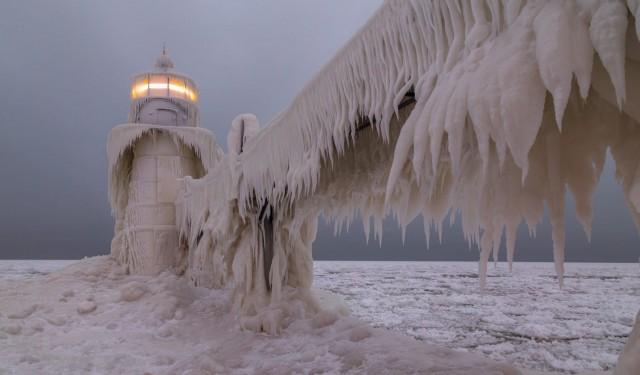 «Ледниковый период». Сент-Джозеф, Мичиган. Фотограф Arkadiusz Ziomek