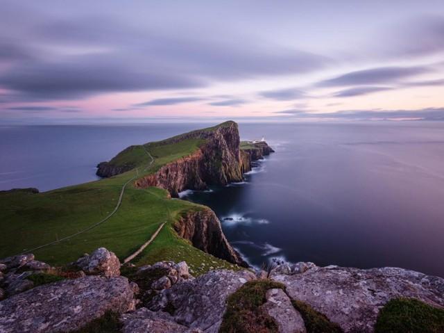 Маяк на острове Скай в Шотландии. Фотограф Стефано Колтелли