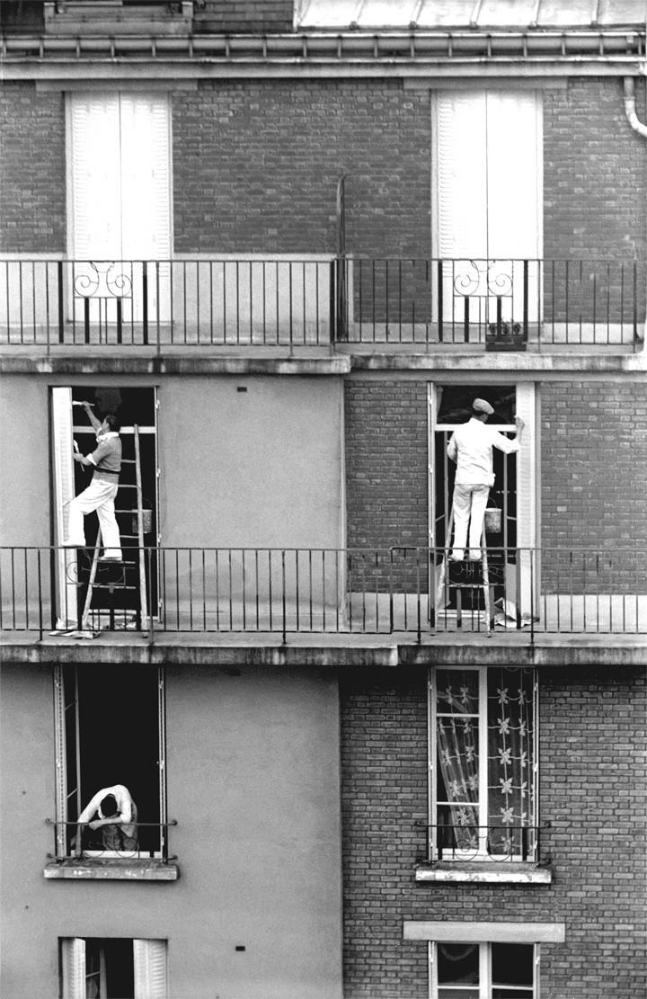 Мастера окон, Париж, 1935. Фотограф Фред Стайн