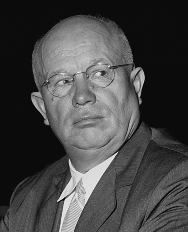 Никита Хрущев, 1959. Фотограф Фред Стайн