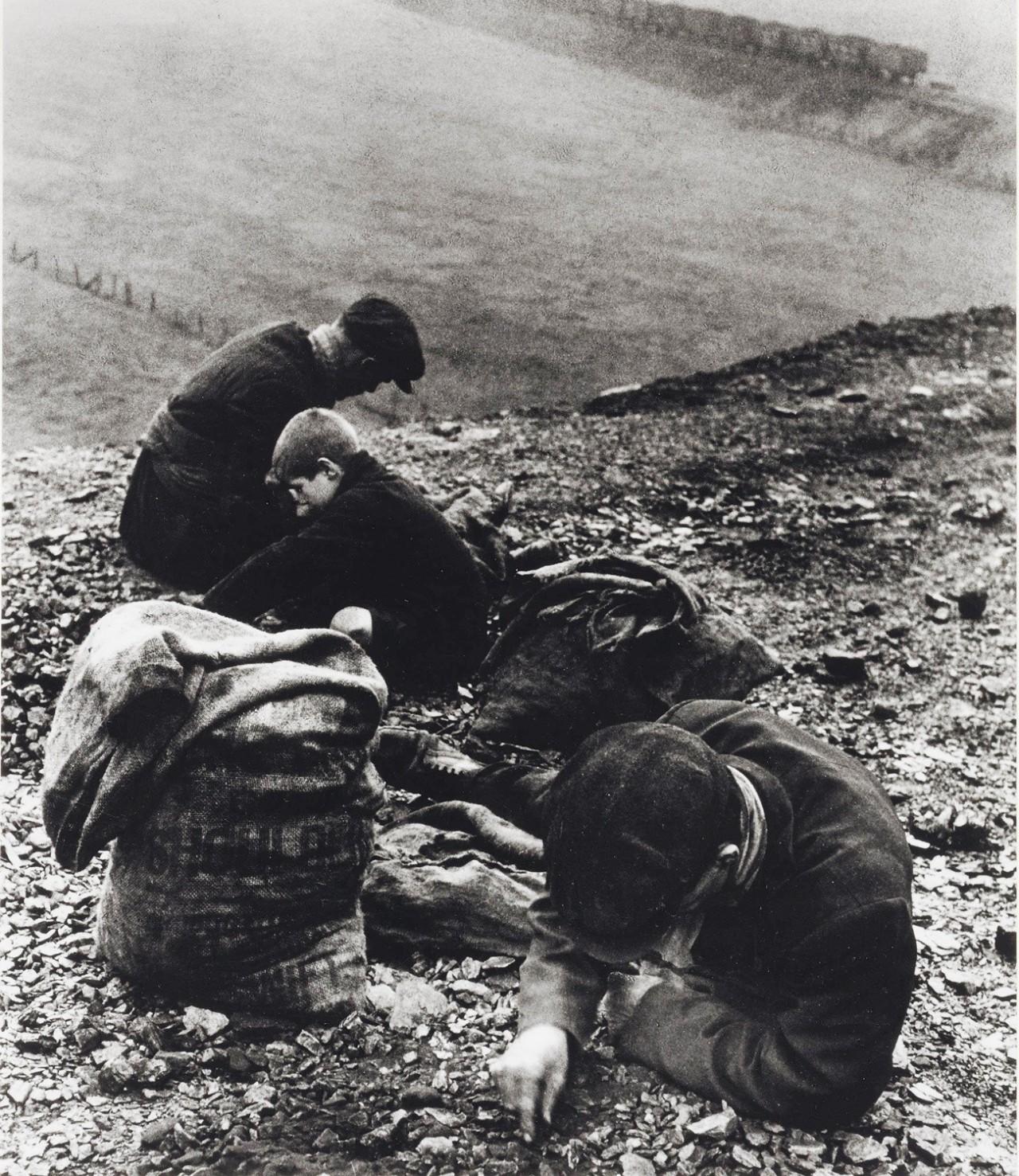 Собиратели угля, около 1936-1937. Фотограф Билл Брандт