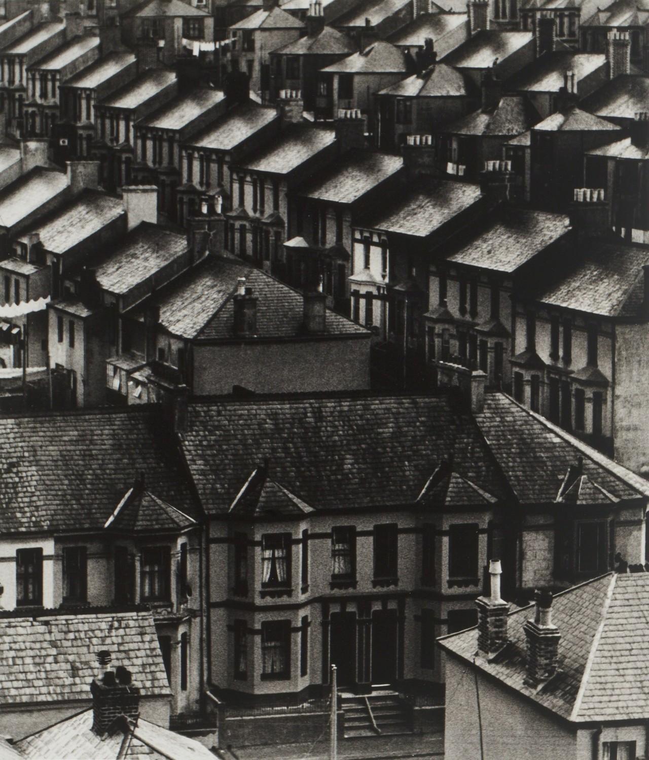 Промытые дождем крыши, 1932. Фотограф Билл Брандт