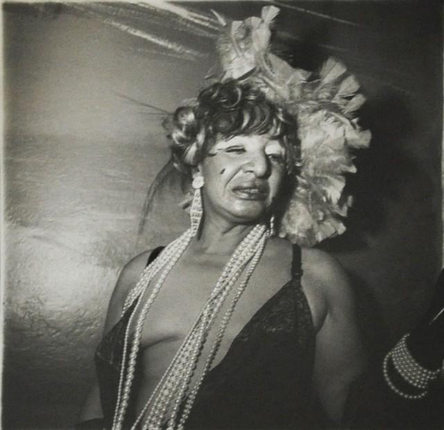 Трансвестит на балу, Нью-Йорк, 1970. Фотограф Диана Арбус