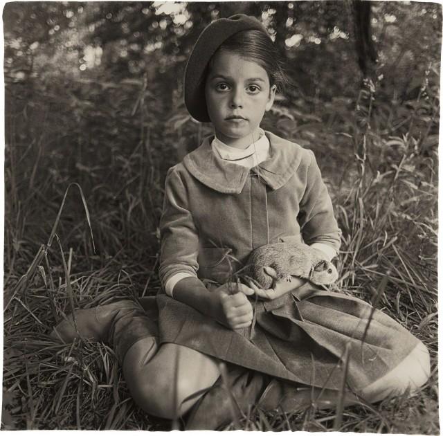 Ребенок в берете, Нью-Йорк, 1962. Фотограф Диана Арбус