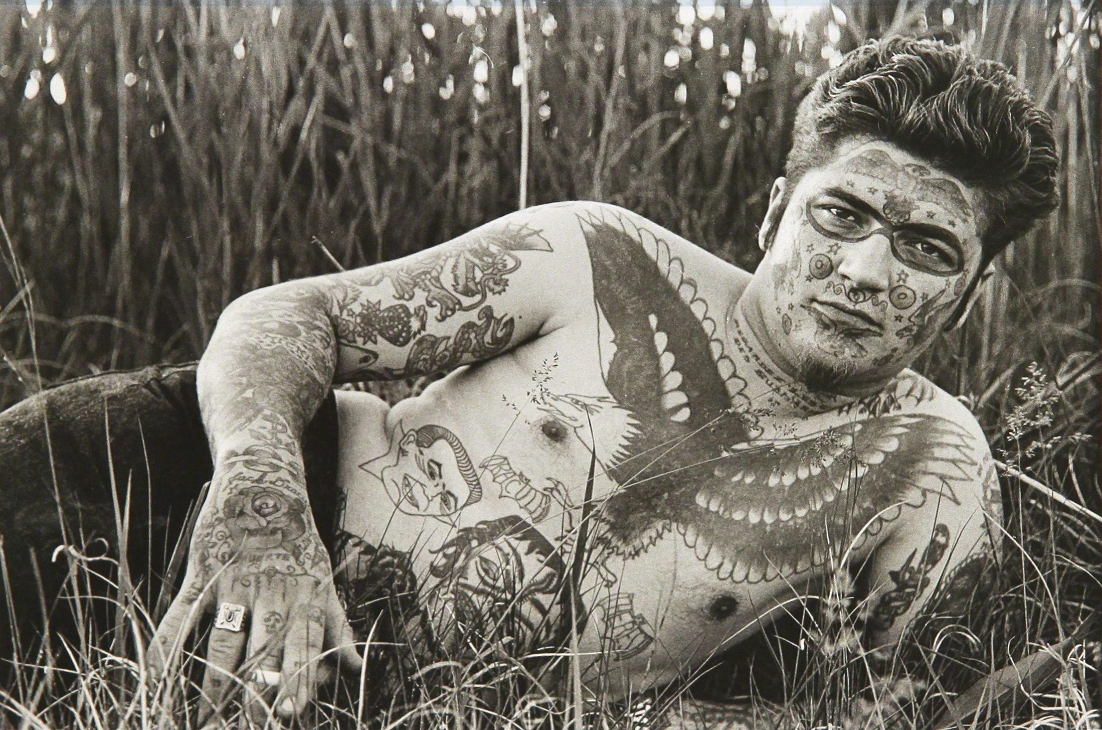 Джек Дракула, знаменитый человек, 1961. Фотограф Диана Арбус