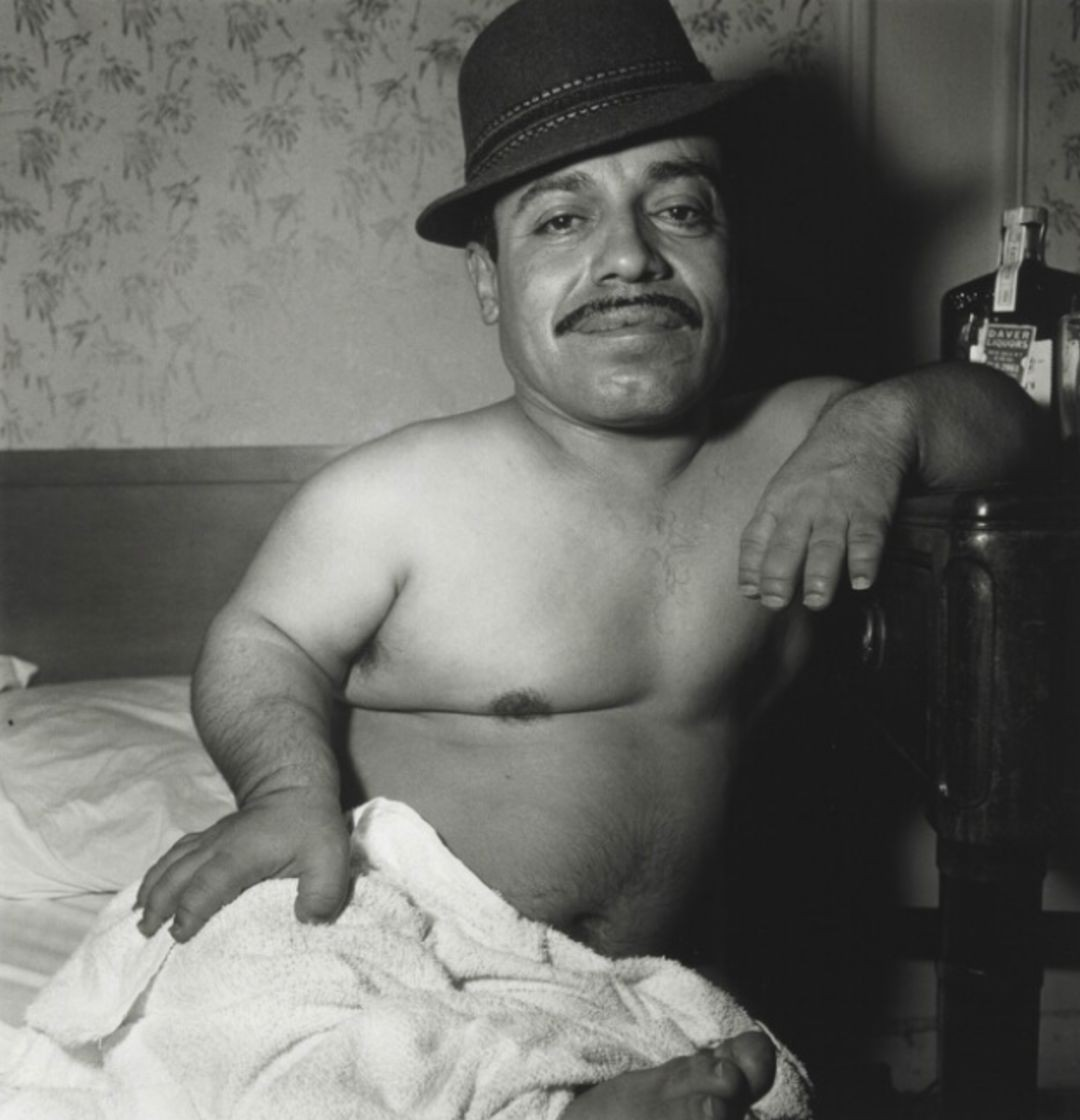 Карлик-мексиканец. Фотограф Диана Арбус