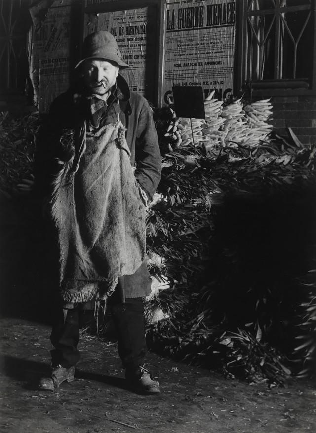 Декан Портеров, рынок Les Halles, Париж, 1935. Фотограф Брассаи