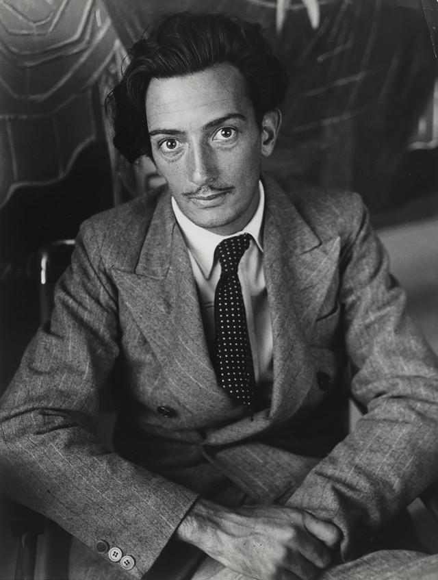 Мой первый портрет Дали, около 1932-1933. Фотограф Брассаи
