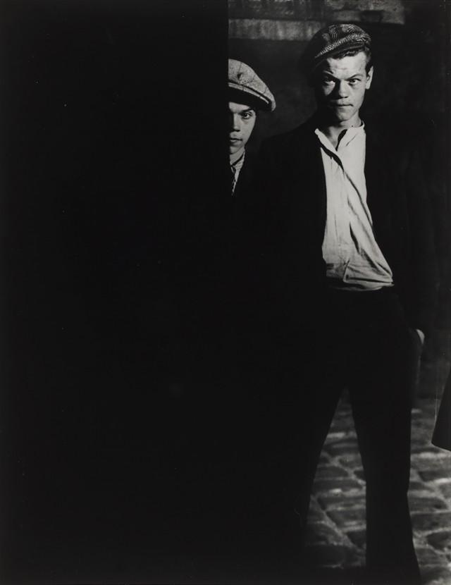 Члены банды Большого Альберта, 1932. Фотограф Брассаи