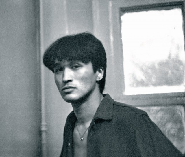 Виктор Цой, 1984. Фотограф Наташа Васильева-Халл