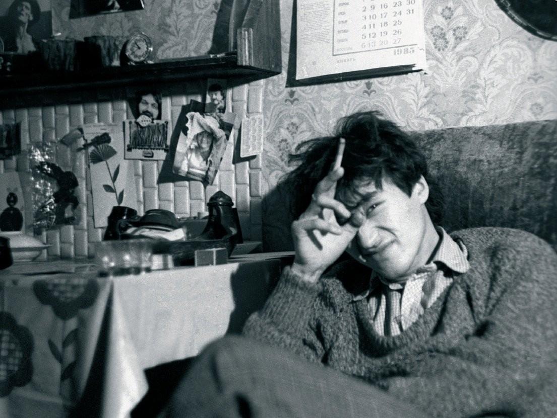 Виктор Цой, 1985. Фотограф Наталья Васильева-Халл