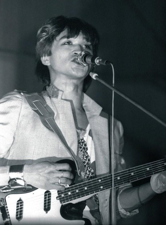 Виктор Цой, март 1985 года. Фотограф Наташа Васильева-Халл