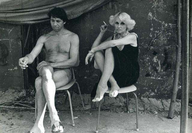 Артисты цирка, 1980-е. Фотограф Ляля Кузнецова