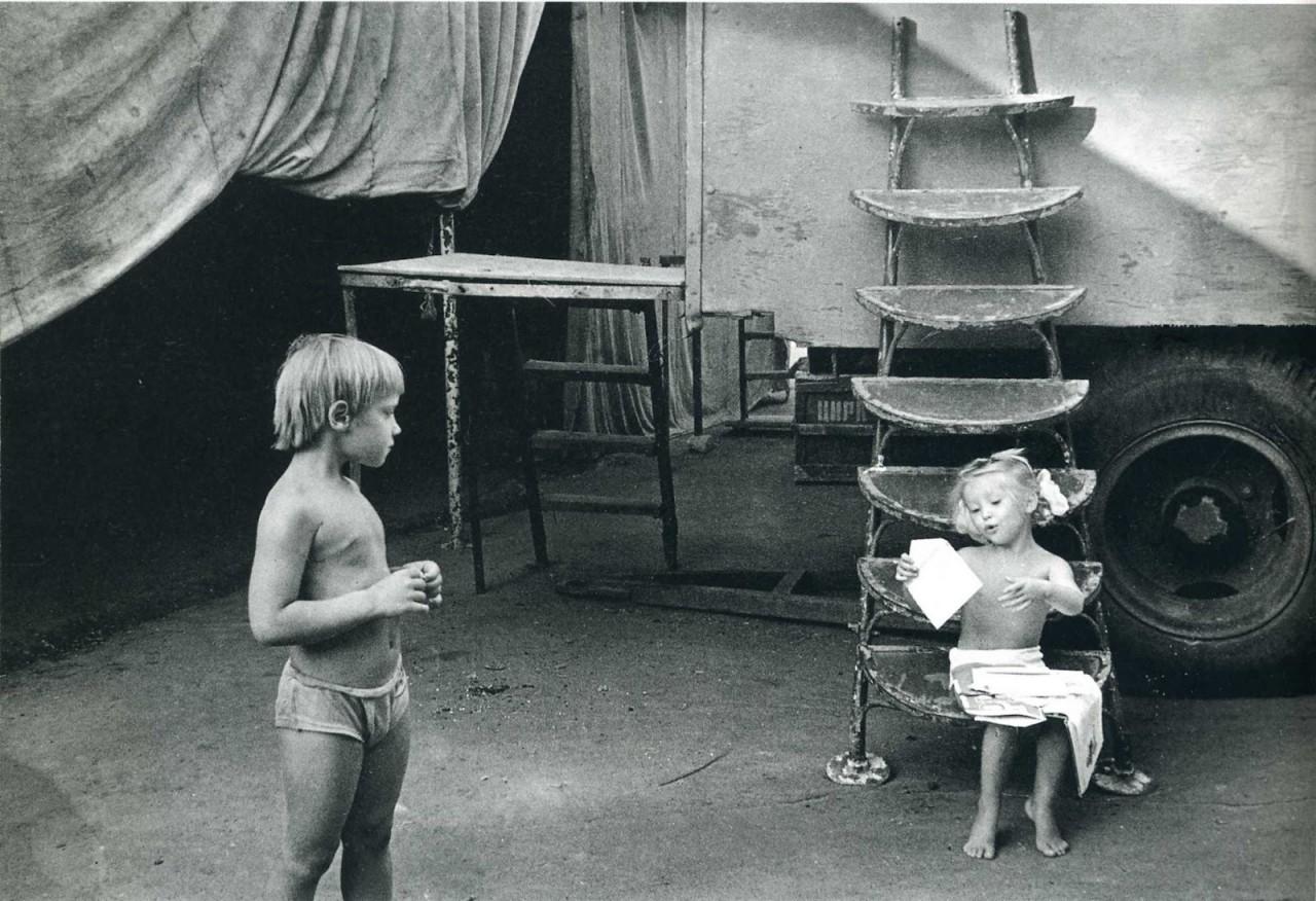 Дети, 1980-е. Фотограф Ляля Кузнецова