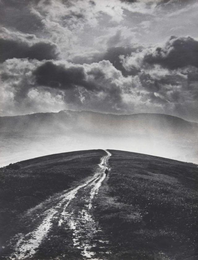 «Дорога к солнцу». Карпаты, 1974. Фотограф Светлана Тимофеева