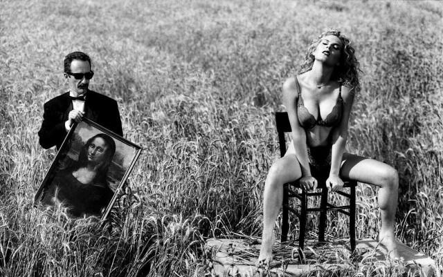 Мона Лиза. Фотограф Пьеро Марсили Либелли