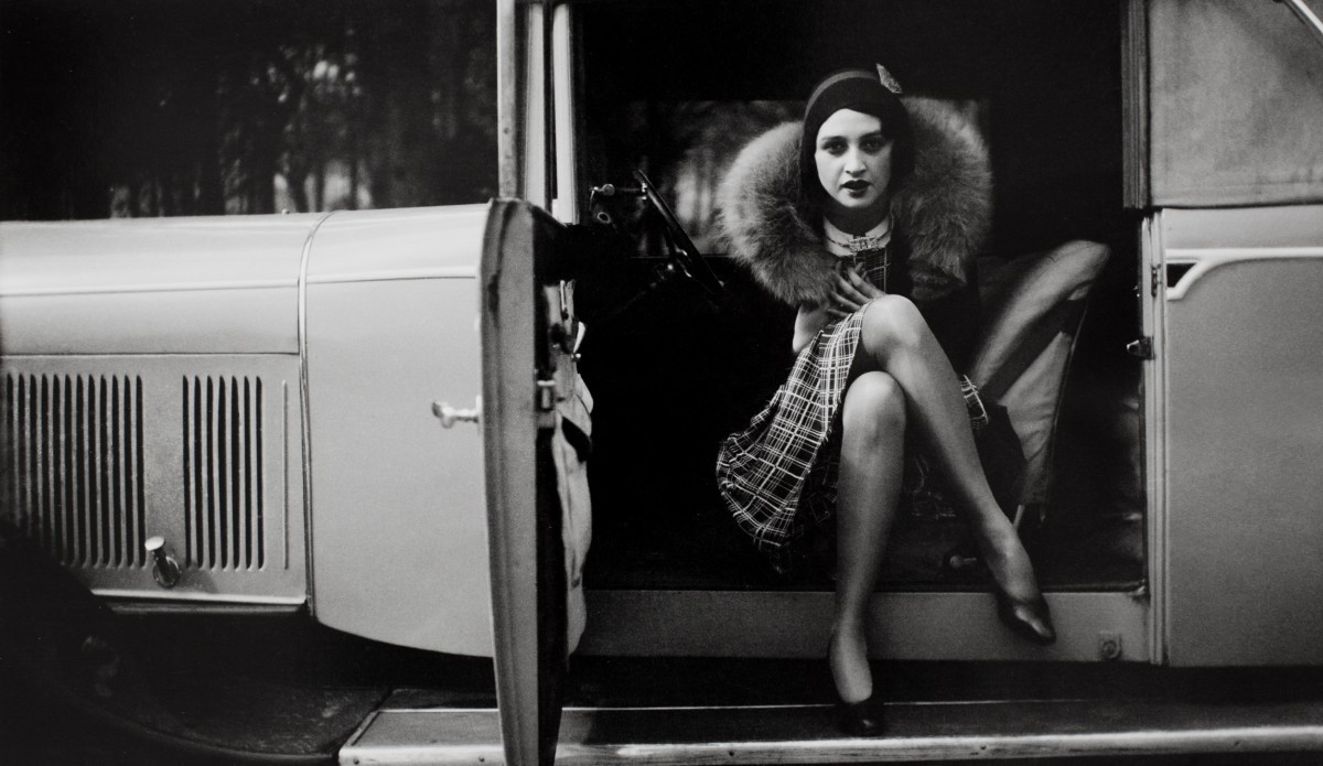 Рене, Париж, 1930. Фотограф Жак Анри Лартиг