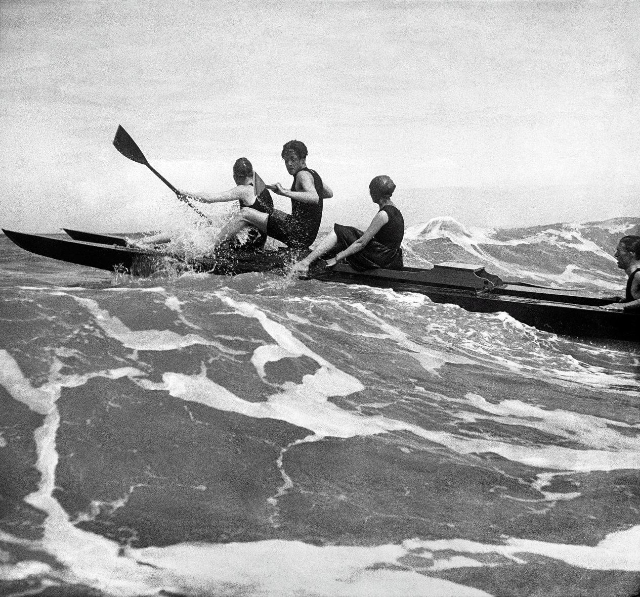 Довиль, 1917. Фотограф Жак Анри Лартиг