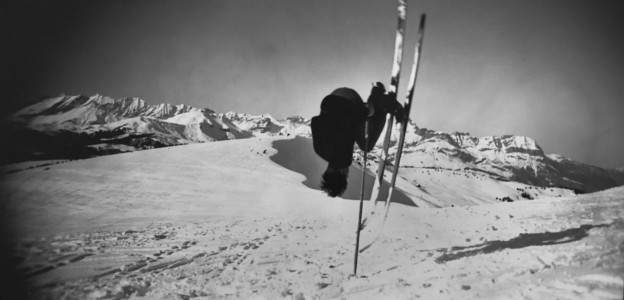 Межев, 1930. Фотограф Жак Анри Лартиг