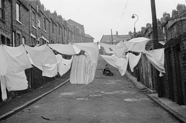 Город Ньюкасл-апон-Тайн, Великобритания, 1977. Фотограф Мартина Франк