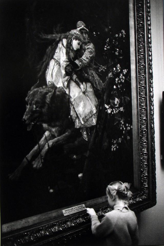 Музей имени А. С. Пушкина, Москва, 1972. Фотограф Мартина Франк