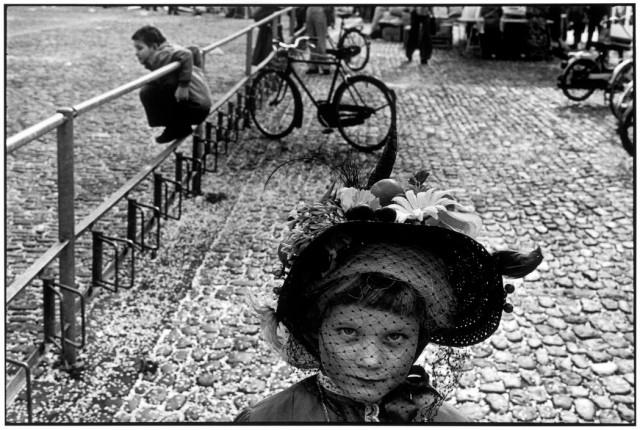 Базель, Швейцария, 1977. Фотограф Мартина Франк