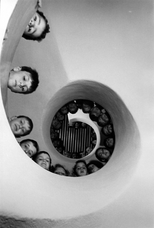 В детской библиотеке, Кламар, Франция, 1965. Фотограф Мартина Франк