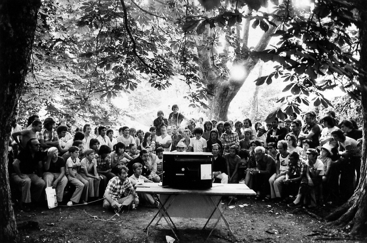 Деревенские гуляния. Прованс, Франция, 1974. Фотограф Мартина Франк