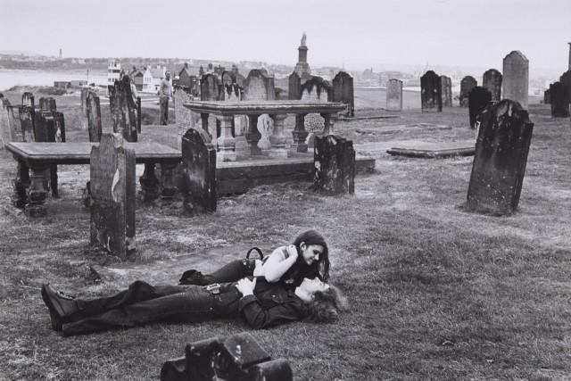 Кладбище на севере Англии, 1978. Фотограф Мартина Франк
