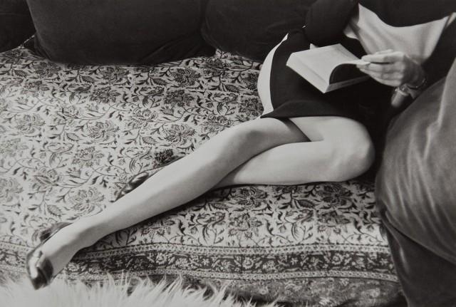 Мартина Франк в Париже, 1967. Фотограф Анри Картье-Брессон