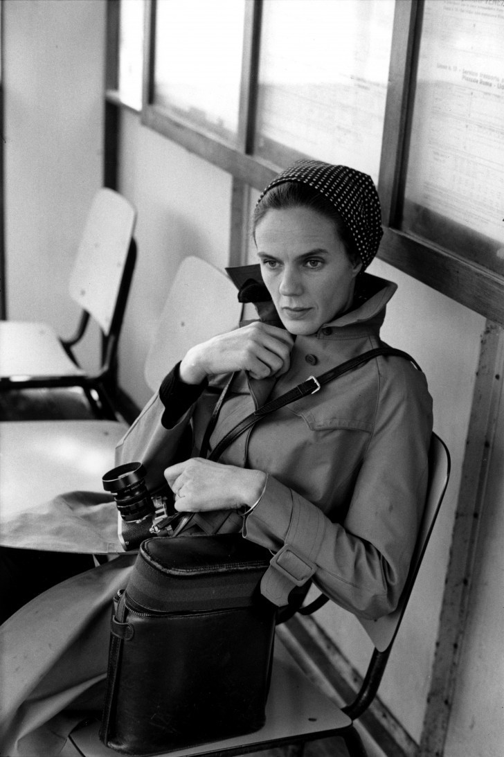 Мартина Франк, Италия, 1972. Фотограф Анри Картье-Брессон