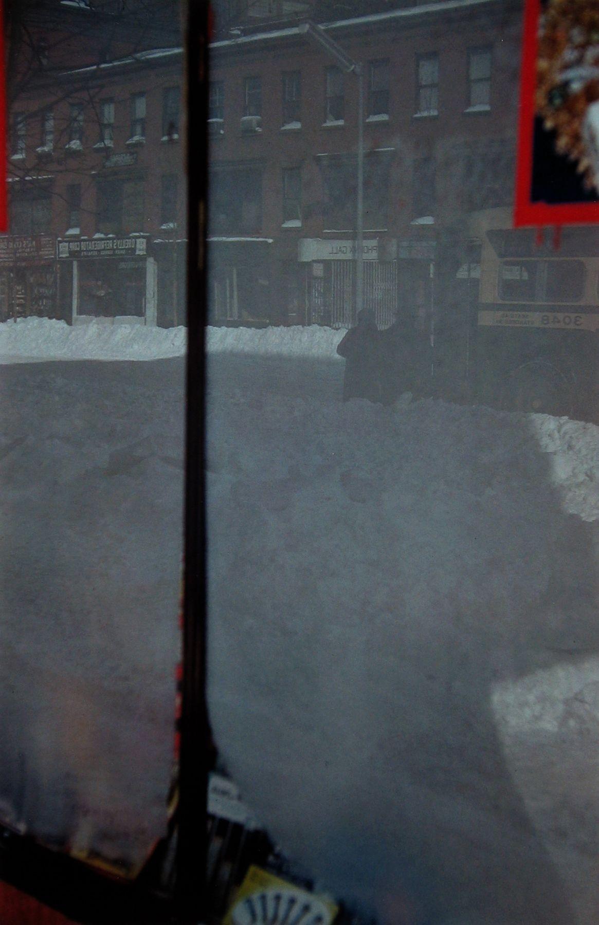 Снежная улица, 1958. Фотограф Сол Лейтер
