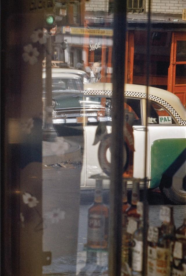 Такси, 1956. Фотограф Сол Лейтер