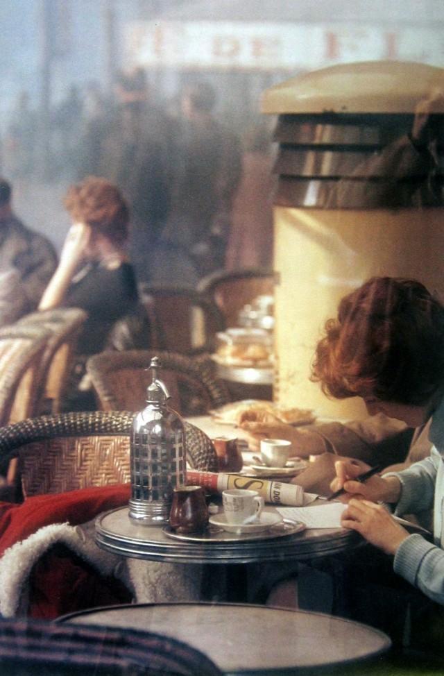 Париж, 1959. Фотограф Сол Лейтер