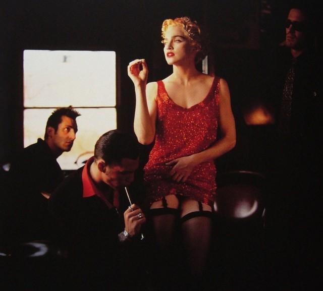 Мадонна, 1990. Фотограф Хельмут Ньютон
