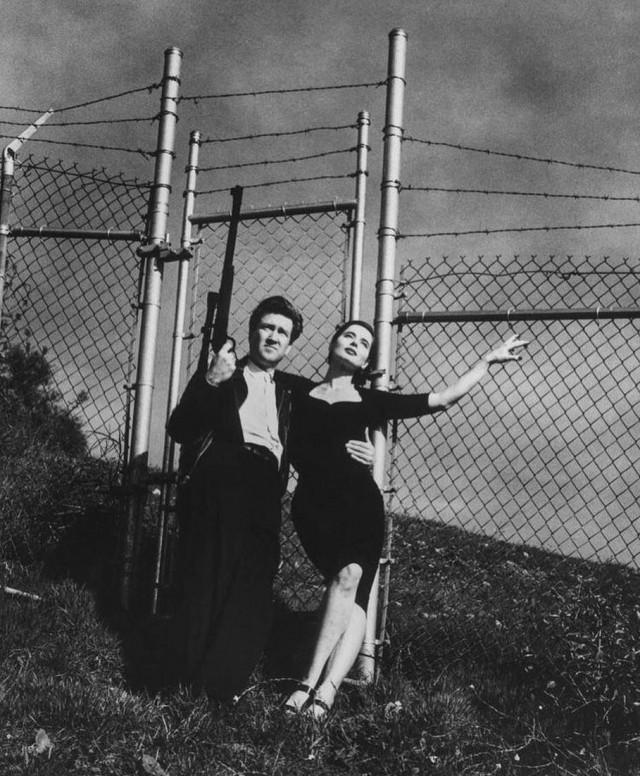 Дэвид Линч и Изабелла Росселлини, 1988. Фотограф Хельмут Ньютон