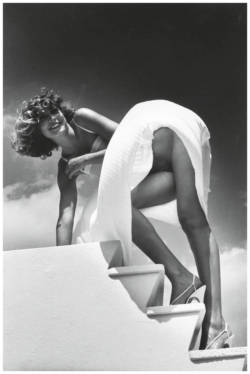 Сен-Жан-Кап-Ферра, Франция, 1978. Фотограф Хельмут Ньютон