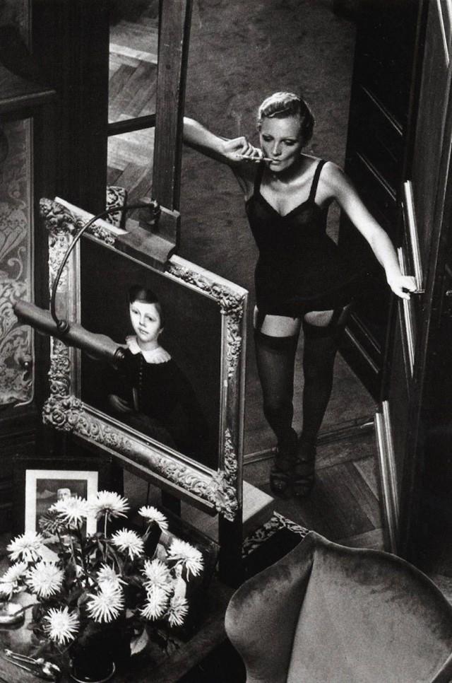 Розелин, 1975. Фотограф Хельмут Ньютон