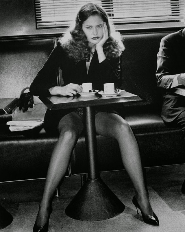 Для Lavazza Calendar, Париж, 1993. Фотограф Хельмут Ньютон