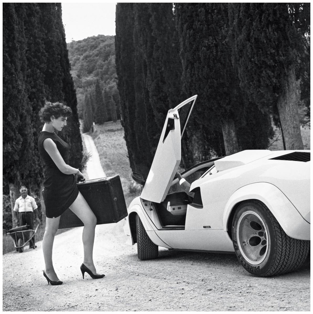 Для Pirelli Calendar, Италия, 1986. Фотограф Хельмут Ньютон